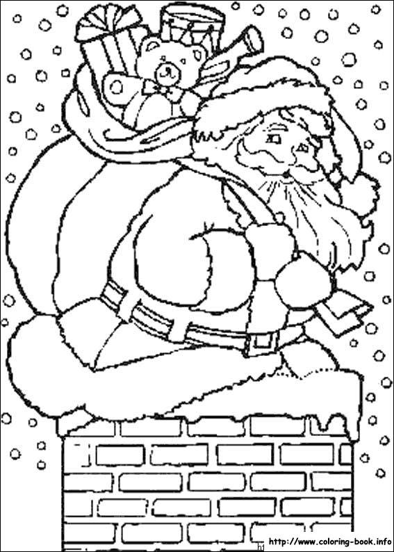 Pobarvanka Božič