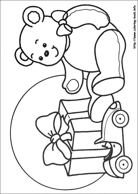 Kleurplaat Garfield Kerst Pobarvanka Božič