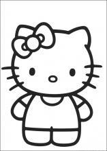Pobarvanke Hello Kitty